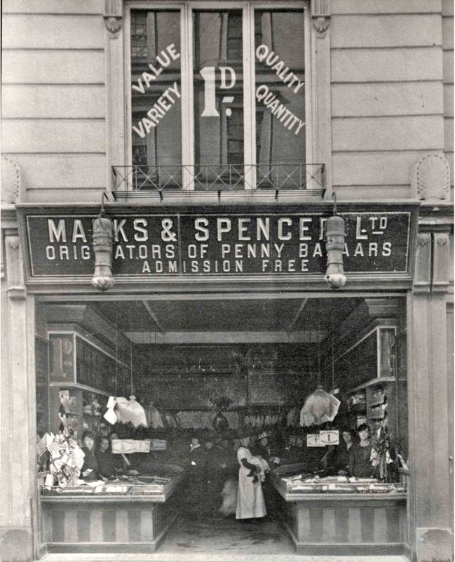 9165a9474bca Exeter Memories - Marks and Spencer