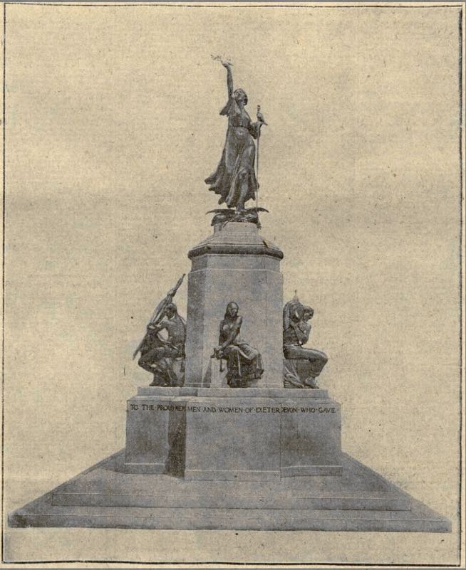 Exeter Memories This Month In Exeter 1919