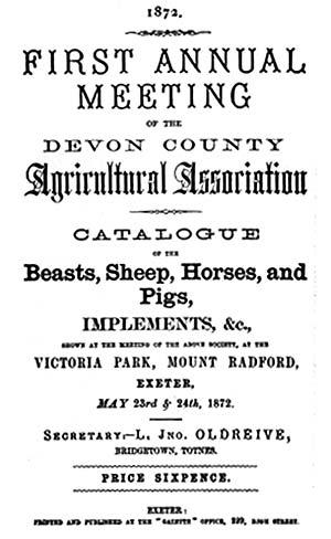 ExeterMemories - Devon County Show