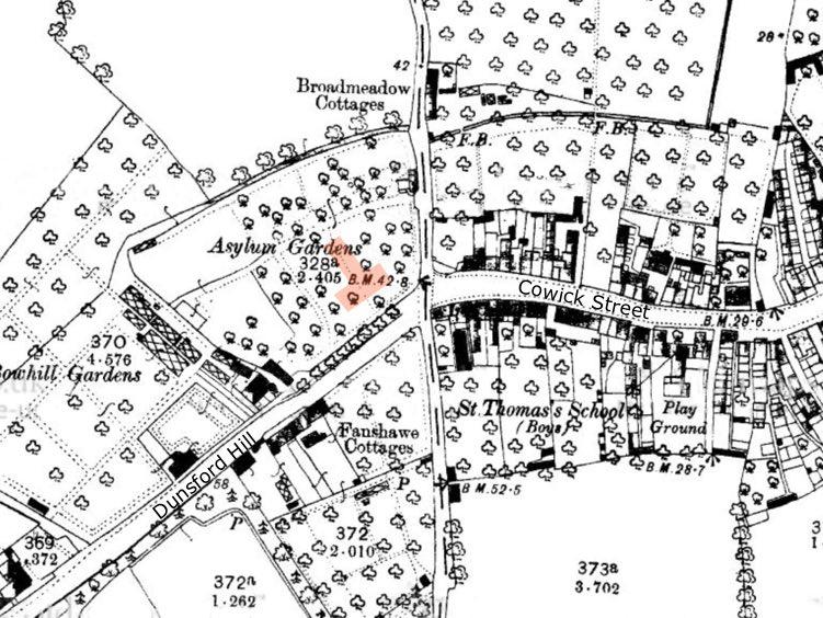 Exeter Memories City of Exeter Lunatic Asylum