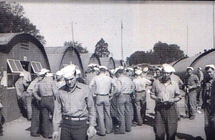 Exeter Memories - US Navy Camp at Weirfield Farm