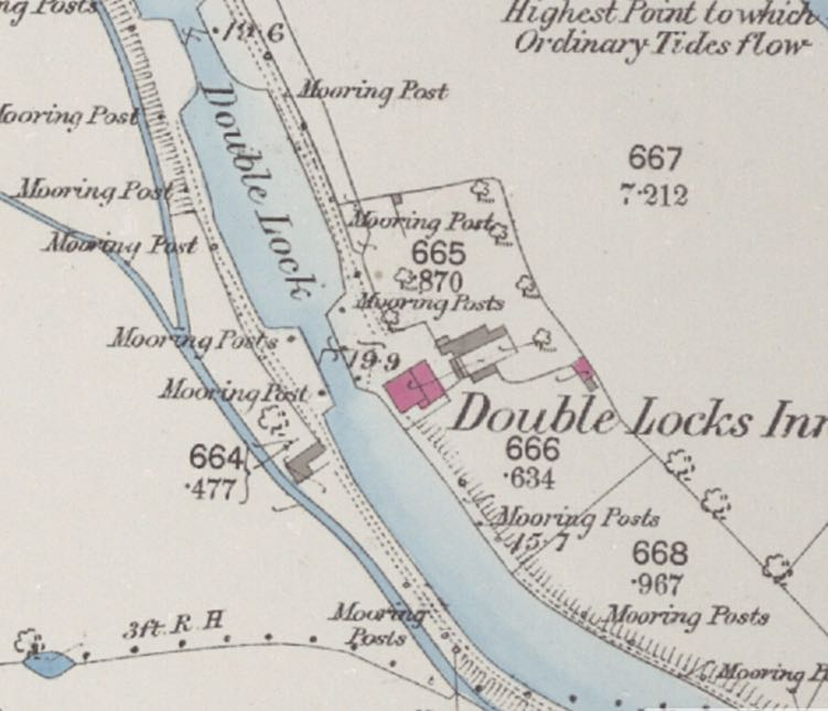 Exeter Memories - Double Locks Hotel