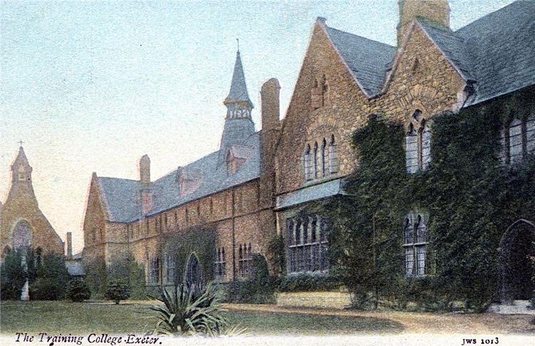 Exeter Memories St Luke S College