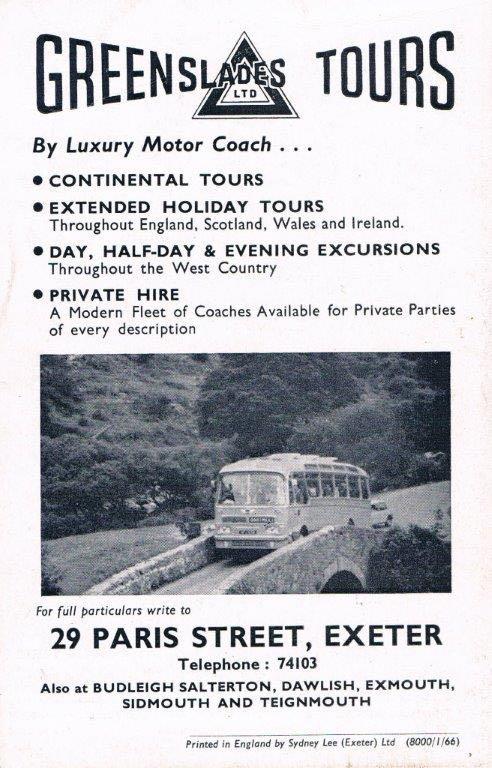 Exeter Memories Hookways Greenslades Of Exeter