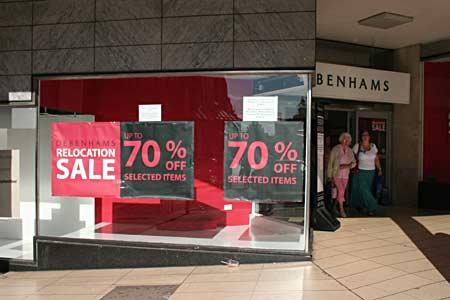 Debenhams UK Sale