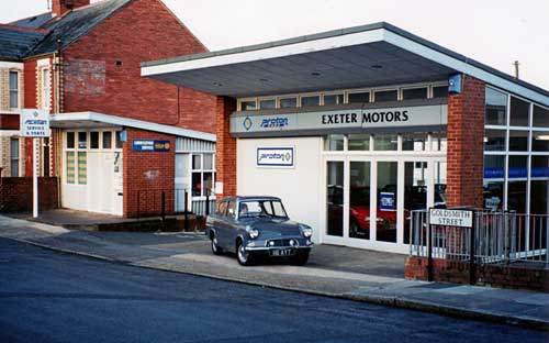 Used Car Dealers Exeter