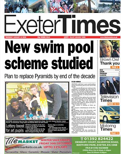 Exeter Memories Newspapers Of The City